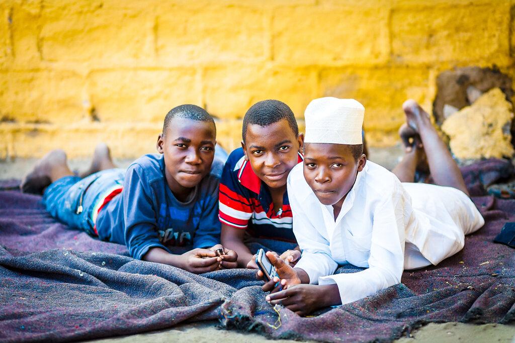 Børn i Afrika