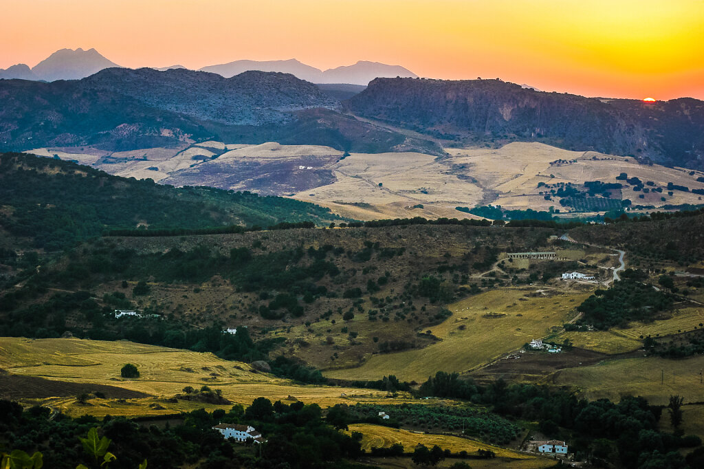 Andalusisk landskab III
