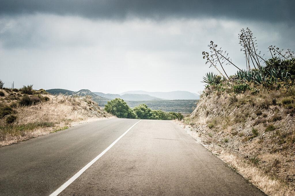 Andalusisk landskab I