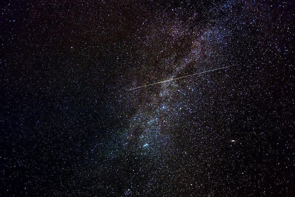 Stjerneskud over Mælkevejen